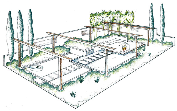 Plan Eden: Garden Survey, Concept Drawing, Planting Plan, Garden